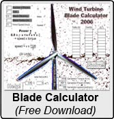 Wind turbine blade calculator for Build your own home calculator